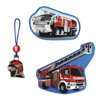 Step by Step Magic Mags Fire Engine Set 3tlg.