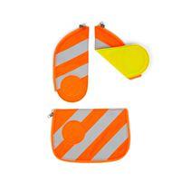 Ergobag Cubo Sicherheitsset Orange mit Reflektorstreifen 3tlg.