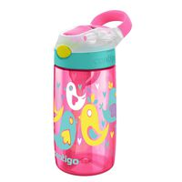 Contigo Trinkflasche 420ml Gizmo Flip Cherry Blossom Love Birds