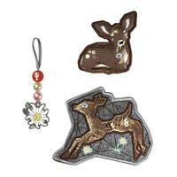 Step by Step Magic Mags Modern Deer Set 3tlg.