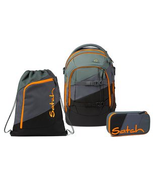 Satch Pack Right Here Limited Edition Schulrucksack Set 3tlg.
