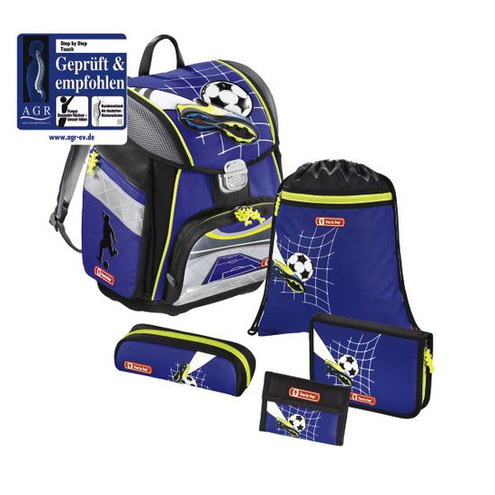 Step by Step Touch Top Soccer Schulranzen Set 5tlg.