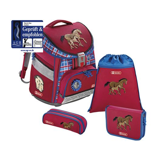 Step by Step Comfort Horse Family Schulranzen Set 4tlg.