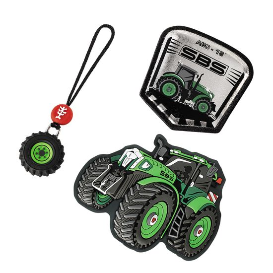 Step by Step Magic Mags Green Tractor Set 3tlg.