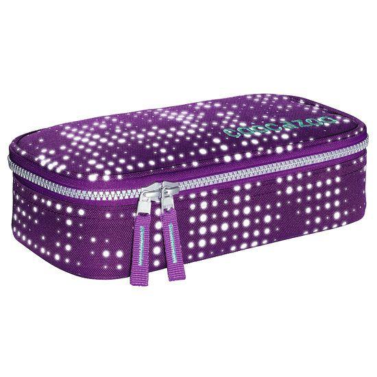 Coocazoo PencilDenzel Purple Galaxy Reflective Schlamperbox