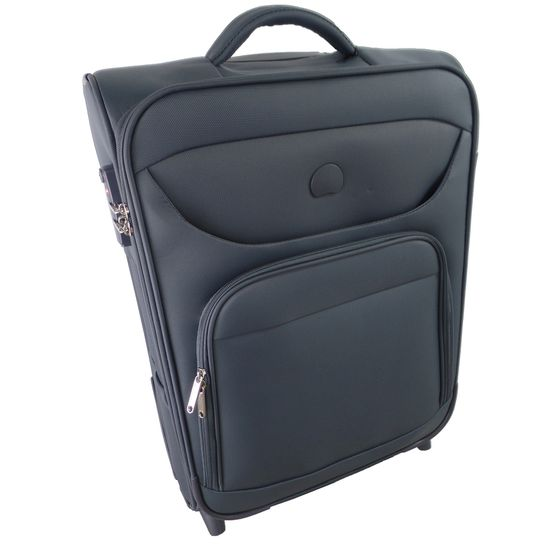 Delsey Lazare Anthracite 2-Rollen Trolley 55cm