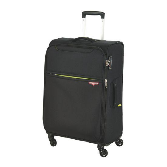 Hardware Koffer XLight Trolley M 69cm 4 Rollen Black