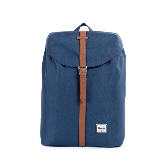 Herschel Post Backpack Mid-Volume Navy / Tan Rucksack