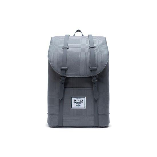 Herschel Retreat Backpack Quiet Shade Plaid Rucksack