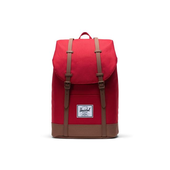 Herschel Retreat Backpack Red / Saddle Brown Rucksack