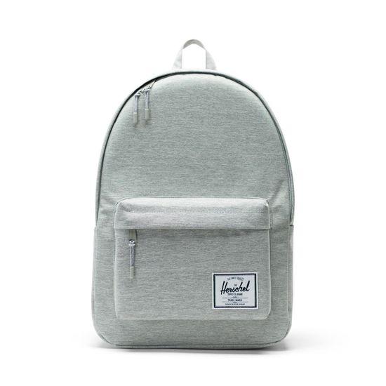 Herschel Classic Backpack Light Grey Crosshatch Rucksack XL