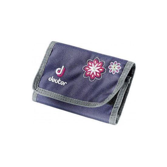 Deuter Wallet Blueberry Flower Geldbeutel