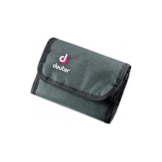 Deuter Wallet Black Magenta Geldbeutel