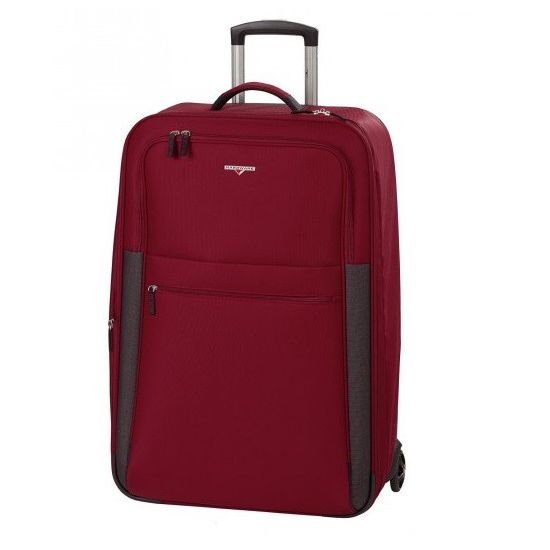 Hardware Hybrid Red Black 2-Rollen Trolley L 77cm
