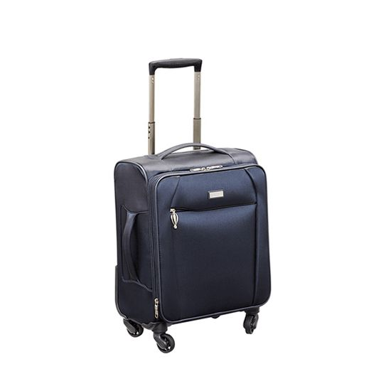 Stratic - Koffer / Trolley - Unbeatable - 4 Rollen - S - Blau