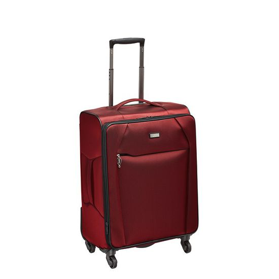 Stratic - Koffer / Trolley - Unbeatable - 4 Rollen - M - Rot