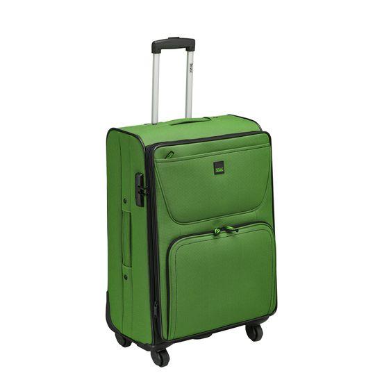 Stratic - Koffer / Trolley - Bendigo 3 - 4 Rollen - M - Grün