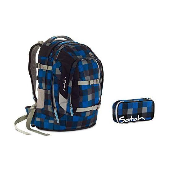 Satch Pack Airtwist Schulrucksack Set 2tlg.