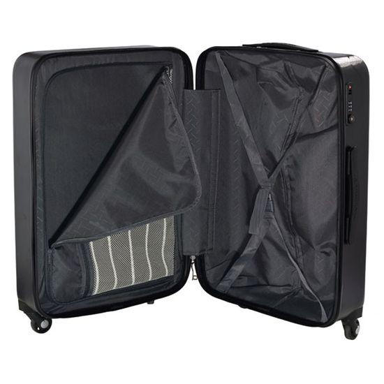 Hardware Koffer Skyline 3000H Trolley L 78cm 4 Rollen Black schwarz