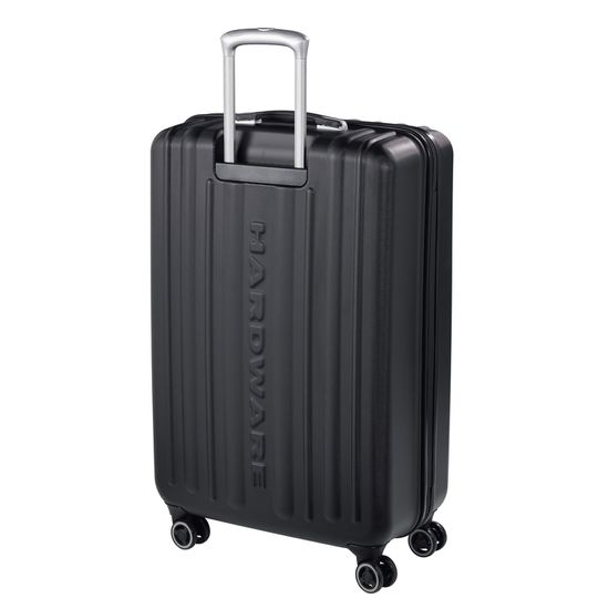 Hardware Profile Plus Piece Concept Metallic Grey Brushed 4-Rollen Trolley L 77cm