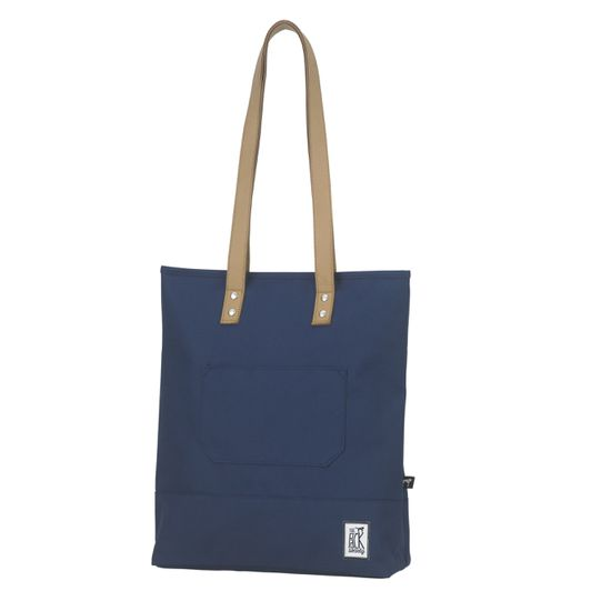 The Pack Society Shopper Classic Cool Prints Solid Navy