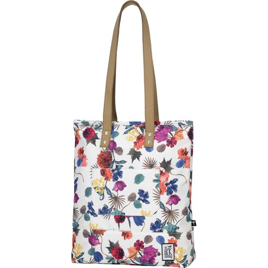 The Pack Society Shopper Cool Prints Multicolor Flower All