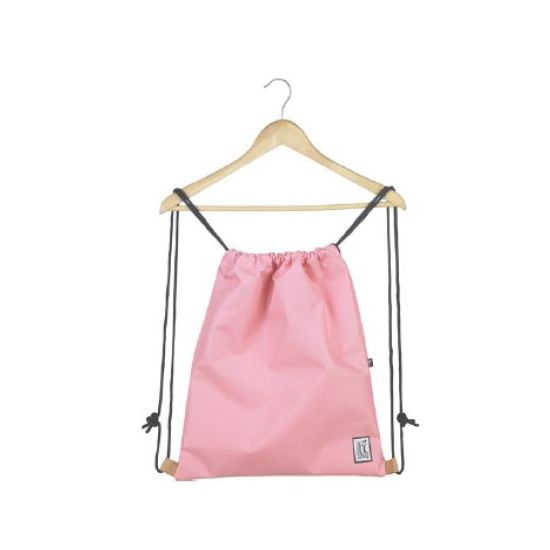 The Pack Society Gymsack Classics Solid Pink