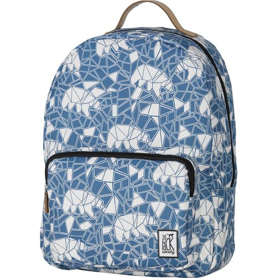 The Pack Society Cool Prints Backpack Blue Bears Allover Rucksack