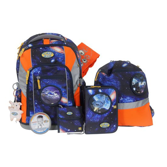 School Mood Loop Space Craft Schulrucksack Set 7tlg.