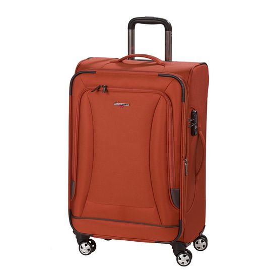 Hardware - Koffer O-ZONE - Trolley M - 69cm 4 Rollen - Orange/Grey