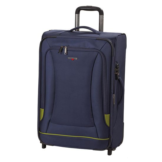 Hardware - Koffer O-ZONE - Trolley M - 65cm 2 Rollen - Blue/Green blau