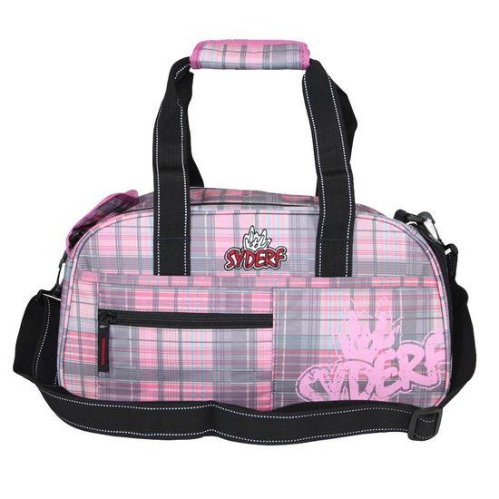 Syderf Sporttasche Pink Check