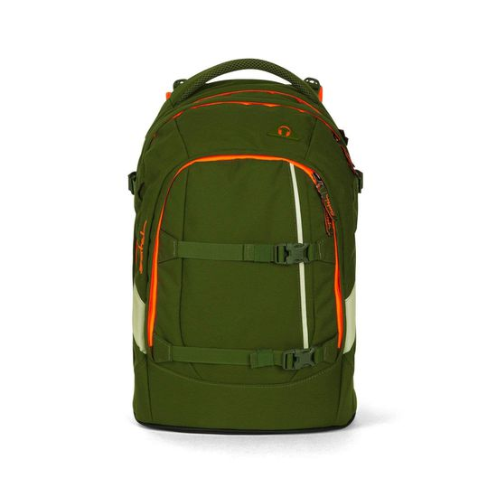 Satch Pack Green Phantom Schulrucksack