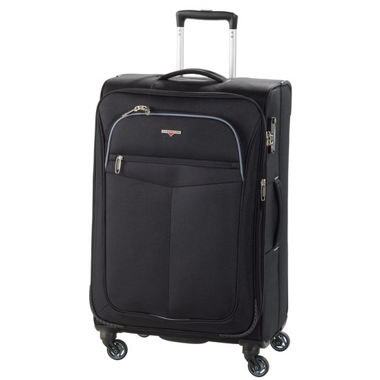 Hardware - Koffer Maxlite - Trolley M - 68cm 4 Rollen - Black Grey schwarz