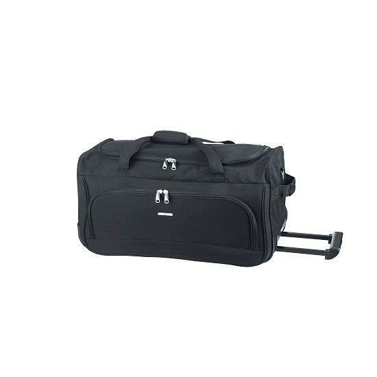 D & N Rollenreisetasche Schwarz