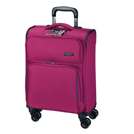 D & N Travel Line 7904 Pink 4-Rollen Trolley S 55cm