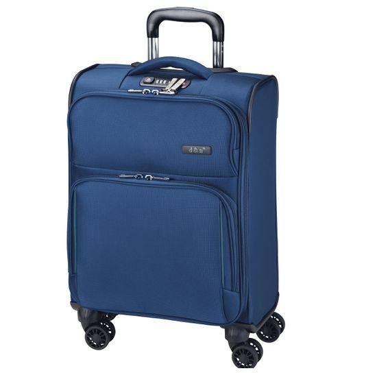 D & N Travel Line 7904 Blau 4-Rollen Trolley L 79cm