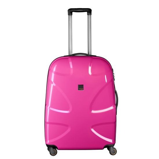 TITAN - Koffer / Trolley L - 4 Rollen X2 Flash 360° - Hot Pink