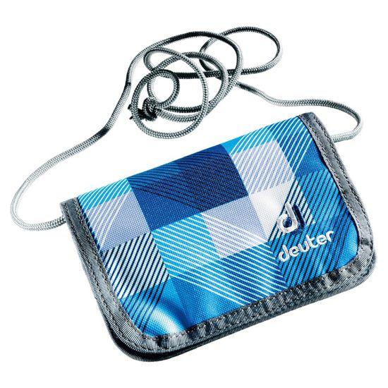 Deuter Chest Wallet Blue Arrowcheck Geldbeutel