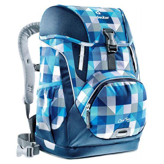 Deuter OneTwo Blue Arrowcheck I Schulrucksack einzeln