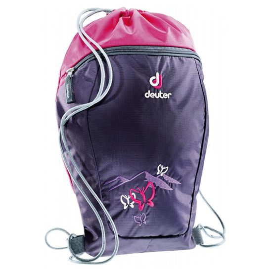 Deuter - Sport/- Turnbeutel Sneaker Bag - Blueberry Butterfly