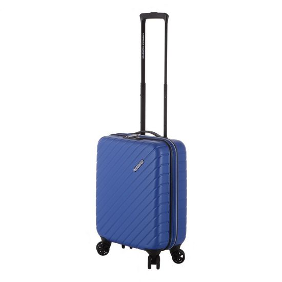 American Tourister Up To The Sky Spinner Insignisa Blue 4-Rollen Trolley 55cm