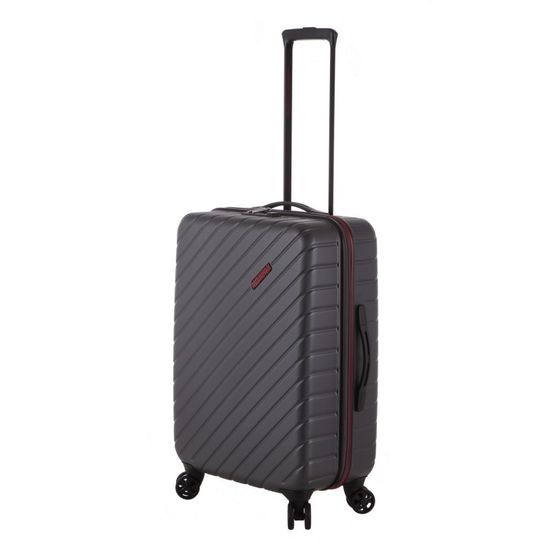 American Tourister Up To The Sky Spinner Titanium 4-Rollen Trolley 66cm