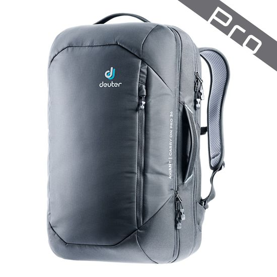 Deuter Aviant Carry On Pro Black Rucksack 36l
