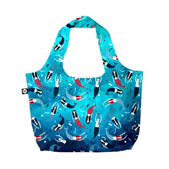 BG Berlin Eco Bag Blue Lagun