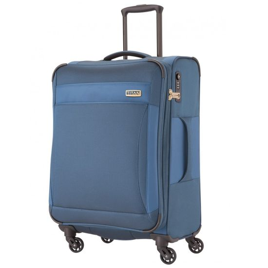 TITAN - Koffer / Trolley S - 2 Rollen Royal 360° - Bluebird (Bordgepäck)