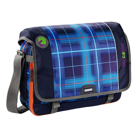 Coocazoo HangDang Classic Check Peacoat Schultertasche