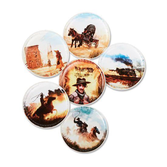 Ergobag Klettie-Set 6tlg. Cowboys