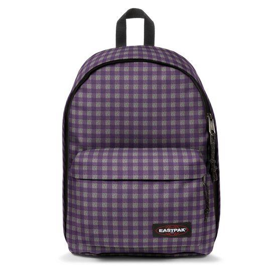 Eastpak Out of Office Checksange Purple Rucksack