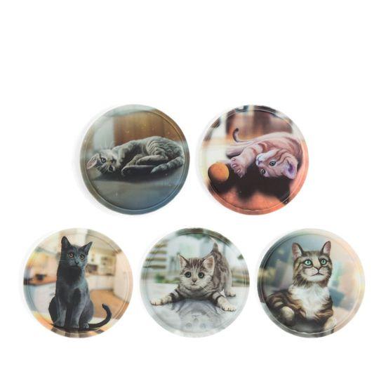 Ergobag Klettie-Set 5tlg. Katzen III